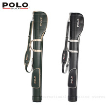 020437 POLO Authentic Golf mens gun bags PU waterproof Golf rubber ball bags travel club5-6 small golf bag bolsas golf mujer