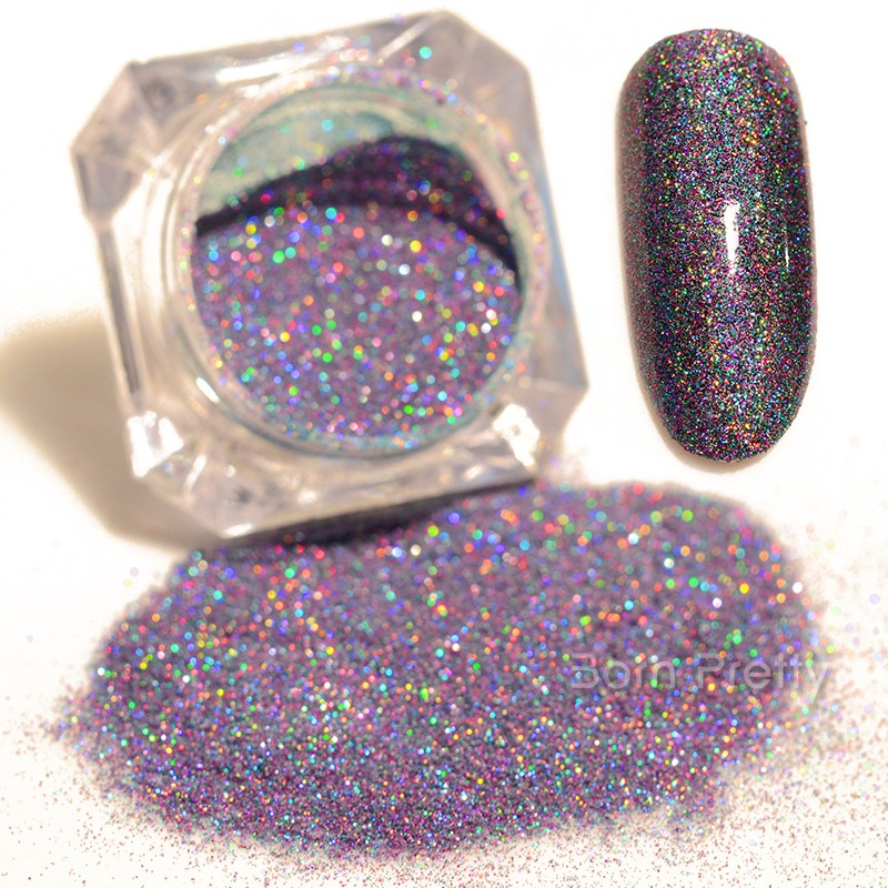 1 5g Born Pretty Starry Holographic Laser Glitter Powder Holo Nail Dust Manicure Art Decoration In From Beauty Health On