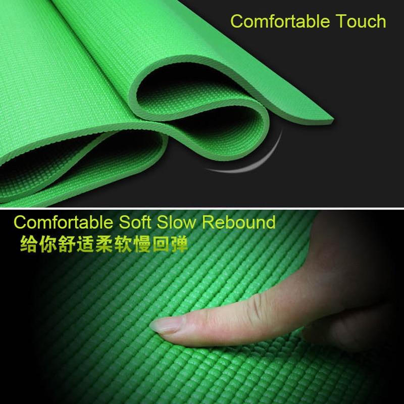 Aliexpress.com : Buy 8mm Skin Friendly PVC Yoga Mat AOLIKES Brand ...