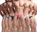 Milankerr homens dos homens da marca sexy lace underwear thong g-cordas gay jockstrap cuecas calcinha masculinos cintura baixa sem encosto nádegas