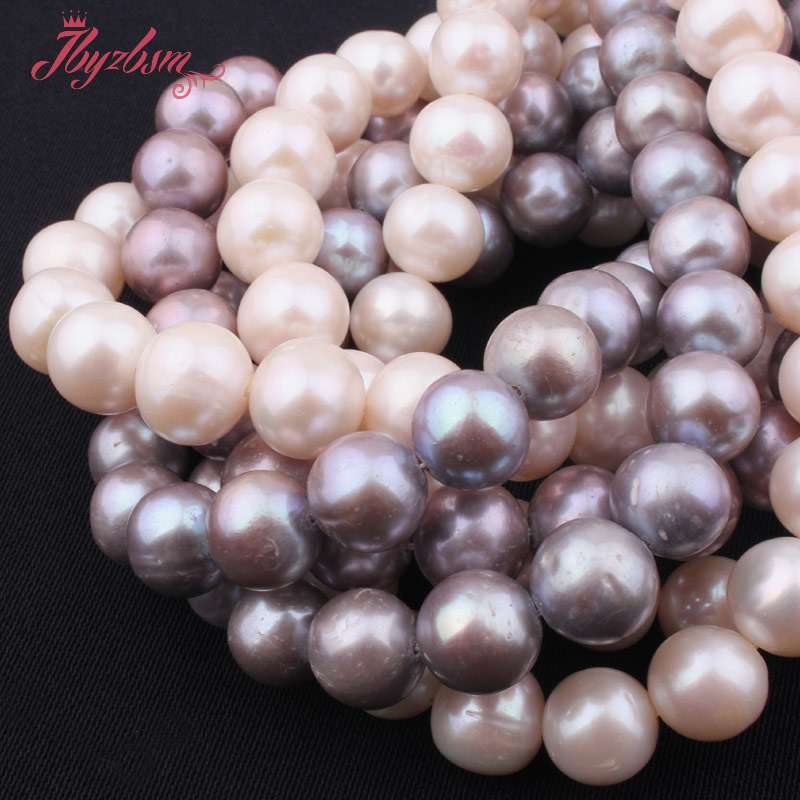 Image 5 - 9.5mm 11mm AA Grade Nearround Freshwater Pearl Loose Natural  Stone Beads For Jewelry Making DIY Necklace Bracelets Strand 15stone  beadsnatural stone beadsbeads free shipping