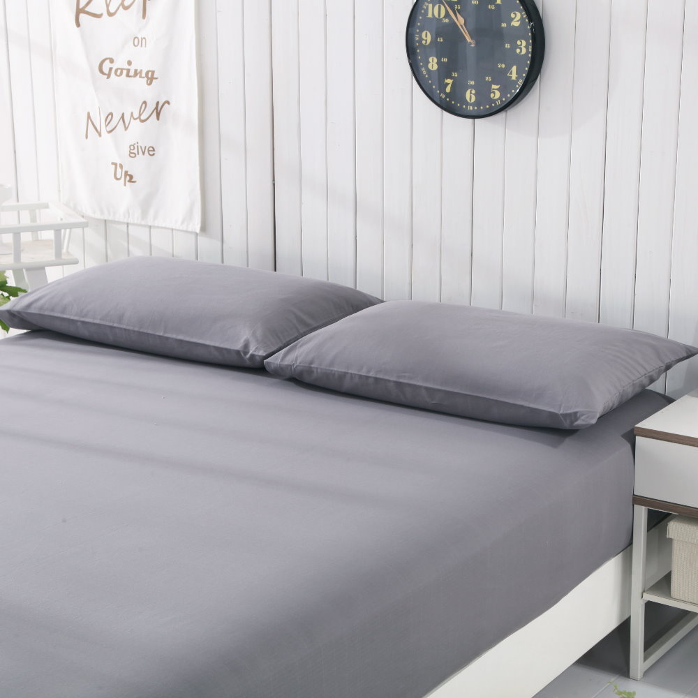 Funda de almohada para orejeras (50x75 cm) juego de 2 piezas de algodón conductivo de plata revitalizan y revitalizan el color gris-in Funda de almohada from Hogar y Mascotas    1