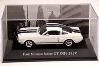 Altaya 1:43 קנה מידה IXO פורד מוסטנג Shelby GT 350 H 1965 מודלים צעצועי מכוניות Diecast אוסף מהדורה מוגבלת לבן