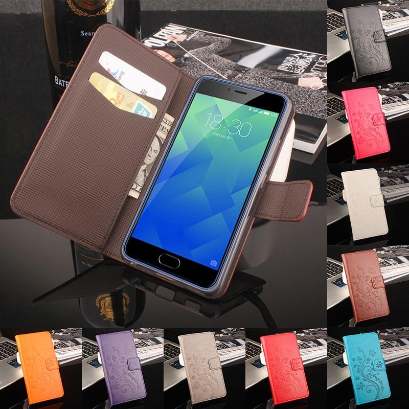 Meizu Meilan 5 M5 Peněženka Pouzdro Módní Barevné Flip Pouzdro pro Meizu M5 Meilan M5 Kožený Potah Se Stojanem Funkce a Slot na Karty