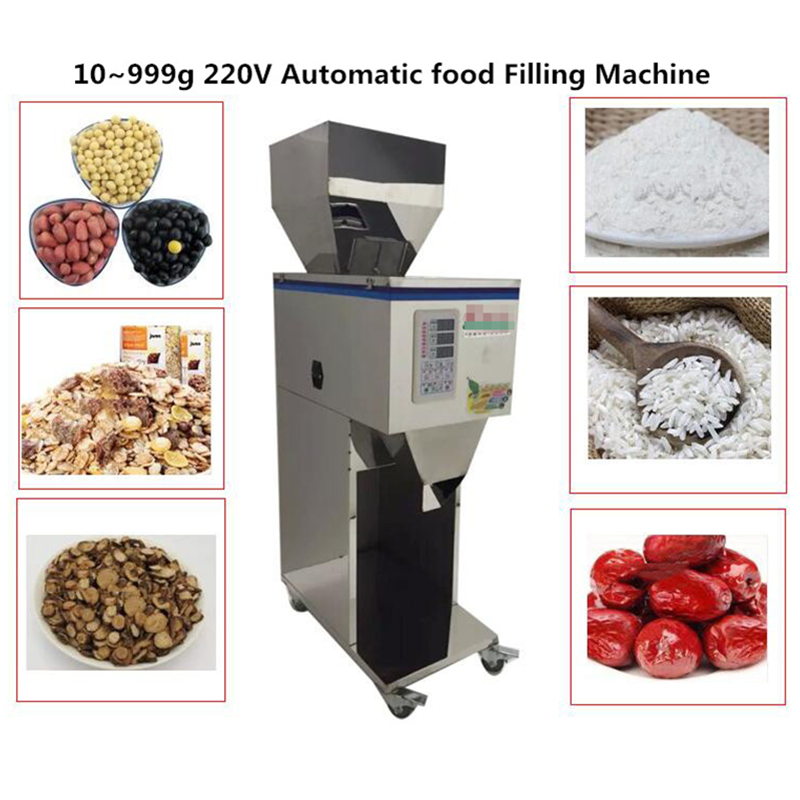 DIY Racking machine 10~999g 220V food Filling Machine Automatic packing for Granular Powder Pack 1000g 98% fish collagen powder high purity for functional food