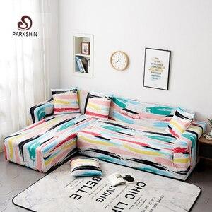 Image 1 - Parkshin Bọc Co Giãn 4 Mùa Sofa Có Bảo Vệ Nội Thất Polyester Loveseat Ghế Dài Bao Sofa Khăn 1/2/3/4 chỗ Ngồi