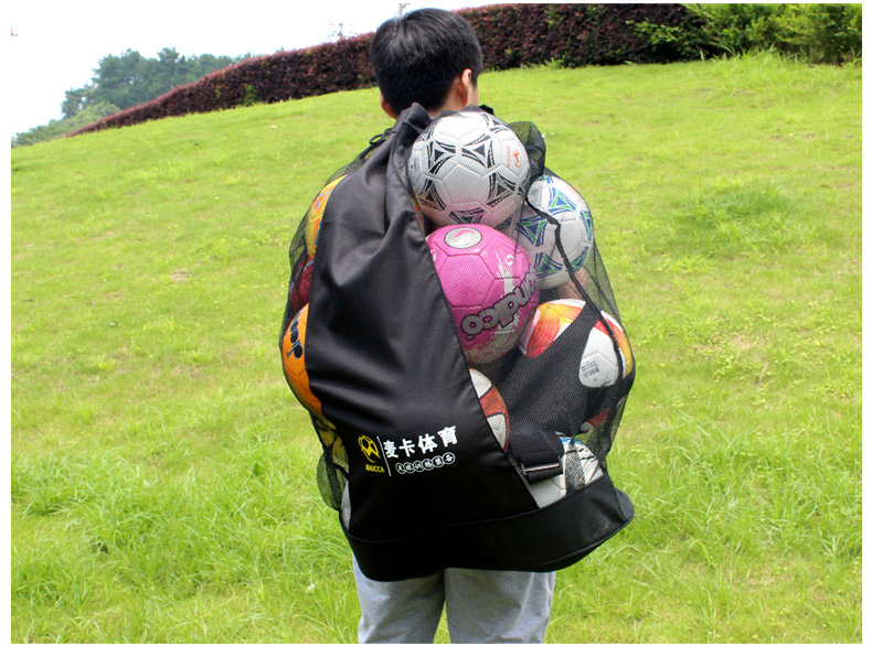 Hot sale!MAICCA Portable Football balls bag Super big for basketball volleyball ball net bags sports training carrying Wholesale