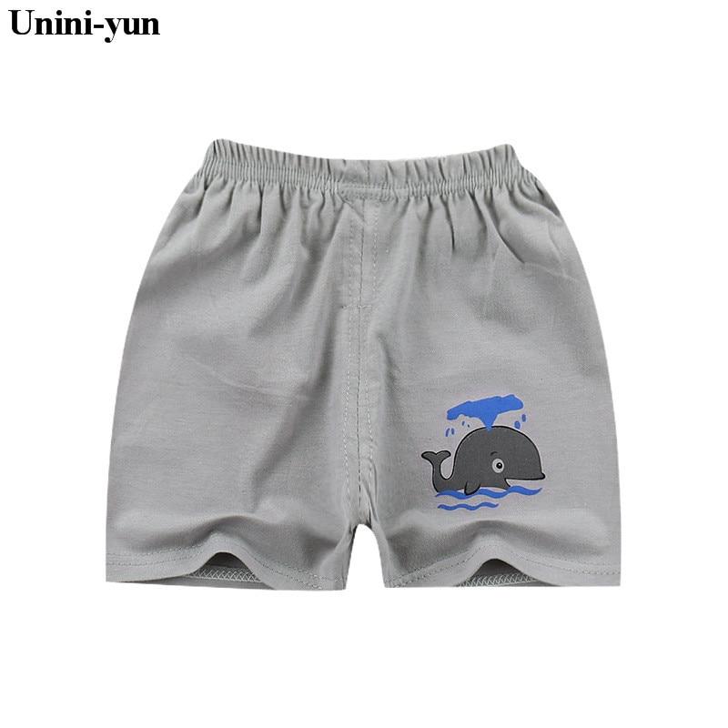Unini-yun Summer Baby   Shorts   Boys Girls whale Print Pattern Children PP   Shorts   Newborn Harem   Shorts   Beach baby boy girl leggings