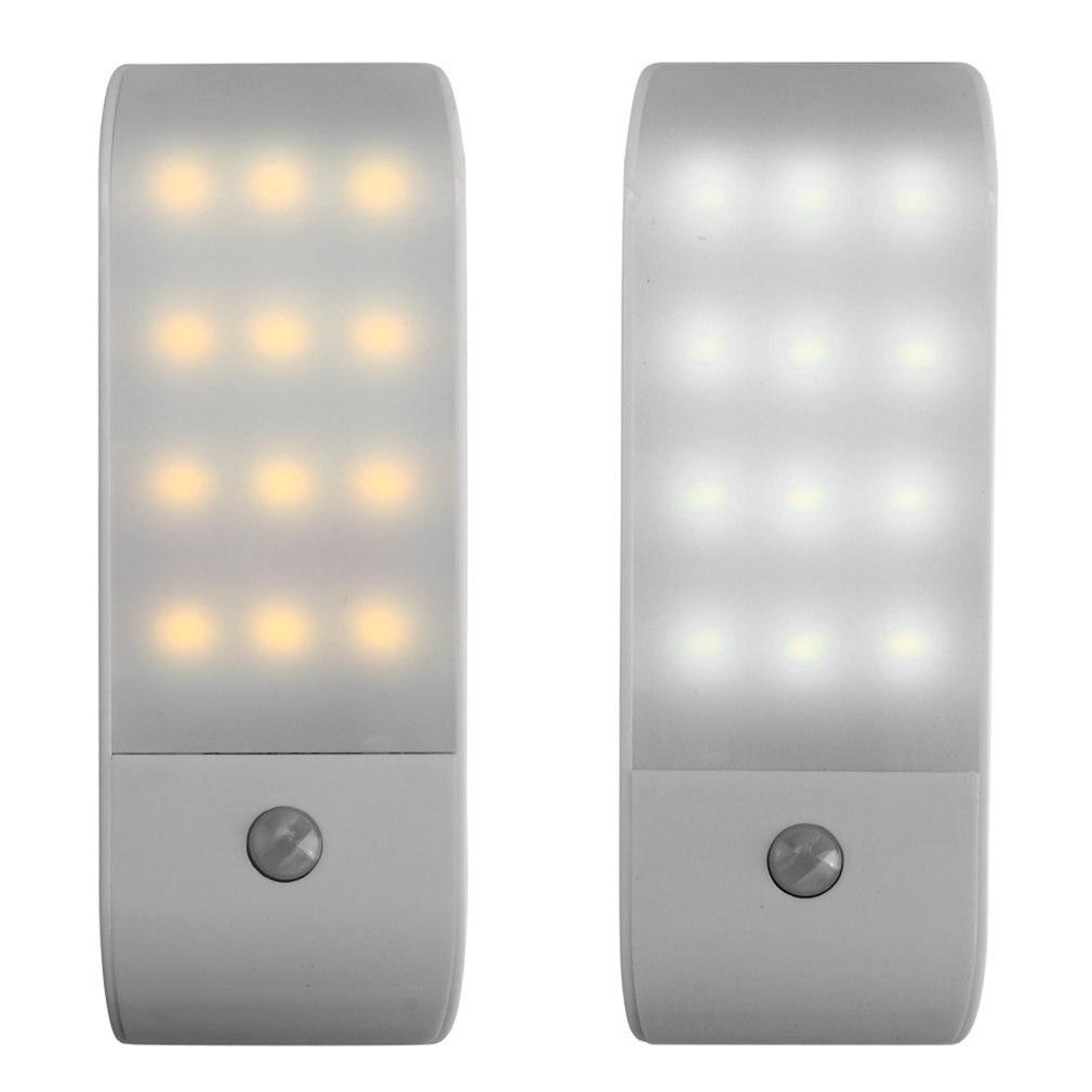 Инфракрасный светильник с 12 светодиодами и датчиком движения, 5 В