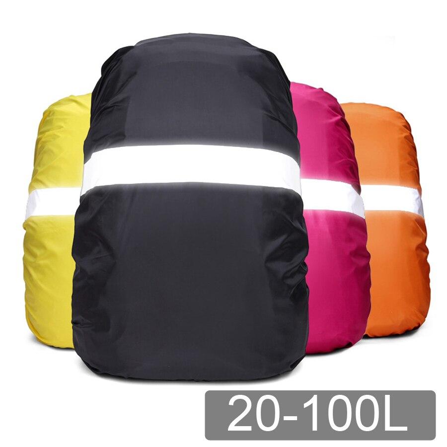 Navlaka za kišu za ruksak reflektirajuća 20L 35L 40L 50L 60L - Kampiranje i planinarenje - Foto 1