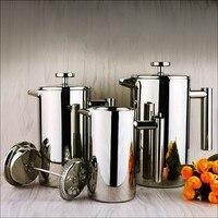 Stainless Steel Coffee Pot Milk Frothing Jug Espresso Coffee Mug Pitcher Barista Craft Cappuccino Cups Latte 350ML 800ML 1000ML