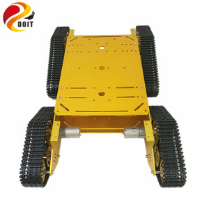 4WD Robot Tracked Tank Car Cha