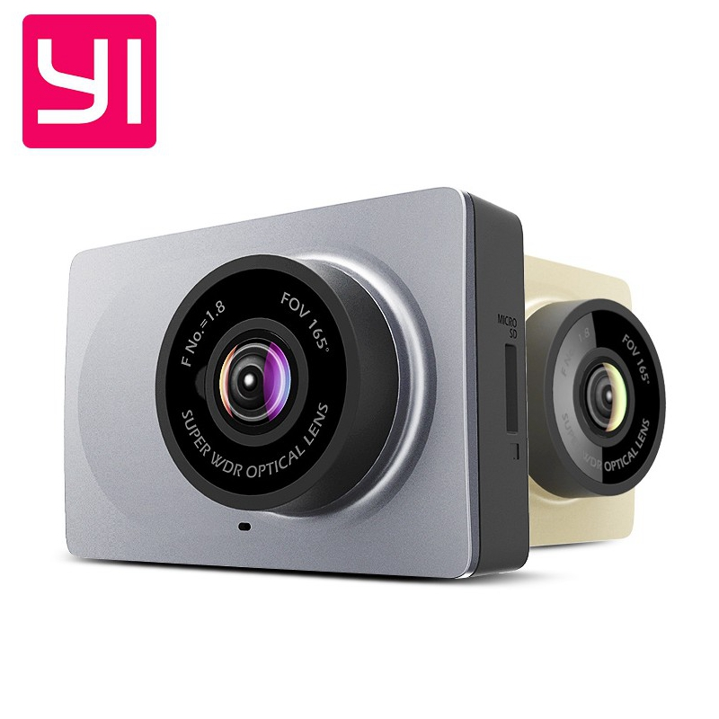 Original English menu Xiaomi YI Smart Car DVR WiFi Xiaoyi Dash Camera 165 Degree ADAS 1080P
