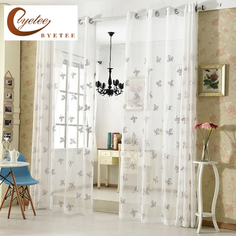 Curtain For Balcony: [byetee] Voile Bedroom Tulle Modern Curtain Balcony Living