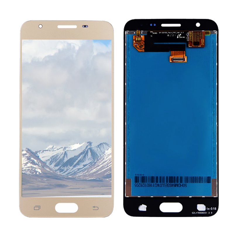 For SAMSUNG J5 Prime LCD Display Touch Screen Digitizer G570M LCD For SAMSUNG GALAXY J5 Prime LCD G570F DS Screen Replacement in Mobile Phone LCD Screens from Cellphones Telecommunications