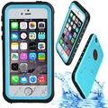 Huella digital a prueba de agua ip68 underwater life water proof case duro a prueba de golpes para iphone 5 s 5s se teléfono capinha coque cubierta