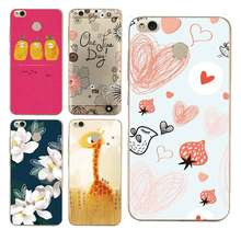 Cute Simple Luxury hand flower deer Soft Clear TPU Phone Case For xiaomi redmi 4x 4a note5a note4x 5s 5s mi6 note3 Free Shipping(China)