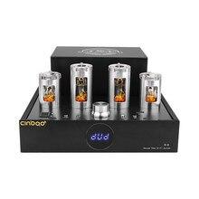 Bluetooth 6N2 6P1 Hifi rura próżniowa przedwzmacniacz mocy 65Wx2 wzmacniacz 2.1 kanałowy wzmacniacz dźwięku Audio wzmacniacz rurowy kino domowe