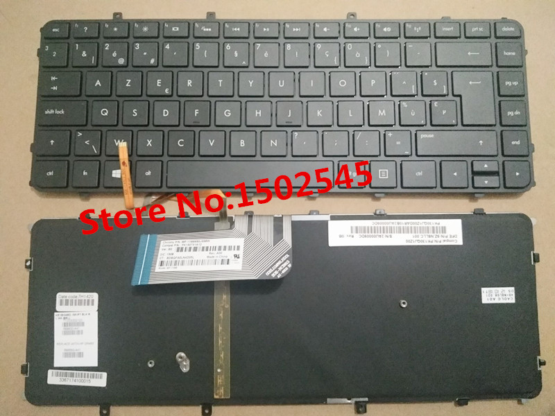 Free Shipping New Original Laptop Keyboard For HP ENVY 4 ENVY 6 BE Keyboard 698680 A41