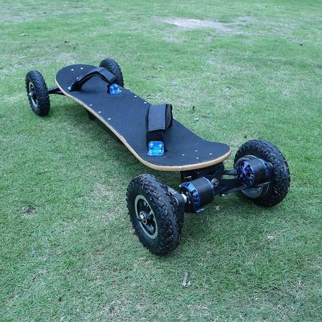 Online Shop Powerful 2x1650w Dual Motor Electric Skateboard Scooter Four  Wheel Off Road Skate Long Board Wireless Remote Bike Boosted-board  95528d3983b