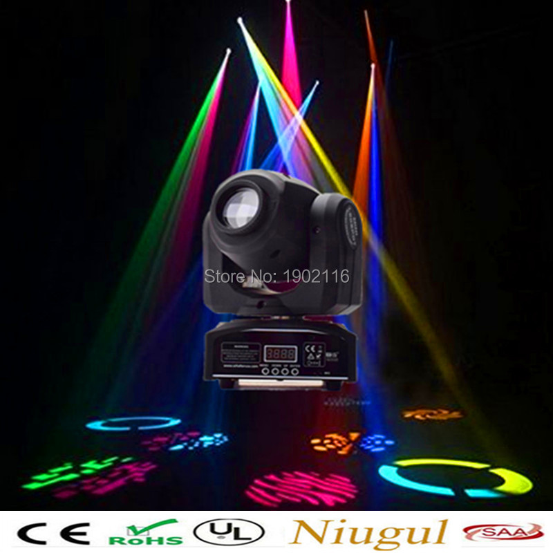 Niugul Wholesale Free shipping 30W led spot moving head light LED Spot Light home party disco ktv lights 30W led patterns lamp niugul best quality 30w led dj disco spot light 30w led spot moving head light dmx512 stage light effect 30w led patterns lamp