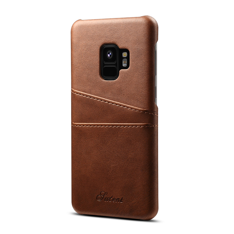 For Samsung note 8 9 S8 plus phone case for Samsung Galaxy S9 Plus Note 9 case leather wallet cover with card holder hard coque