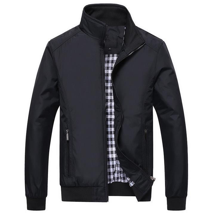 Heiße neue Art und Weise beiläufige Männerjackenjacken dünne - Herrenbekleidung