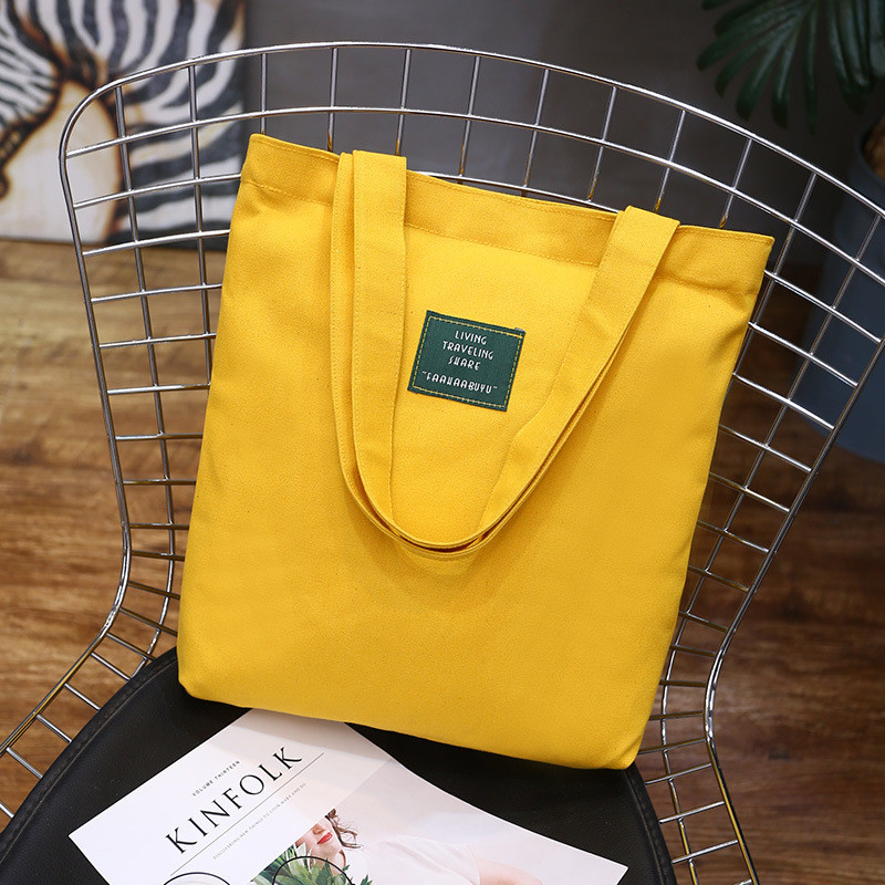 Fashion Women Canvas Handbag Cute Travel Beach Bags Female Shoulder Tote Bags Large Capacity Shopping Bag Handbag Daily Use Bag