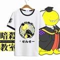 New Ansatsu Kyoushitsu Korosensei Cosplay T-shirt Cosplay Anime T Shirt Men Women Summer cotton  tops Tees