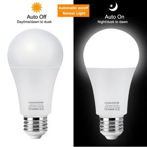 Image 2 - WiFi חכם אור LED הנורה E27 8W 9W 10W 12W A60 PIR Motion חיישן LED הלילה הנורה מנורת לבית מסדרון גן תאורת 220V