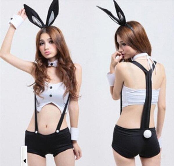 Aliexpress.com : Buy Sexy Bunny Girl Maid Costume Halloween ...