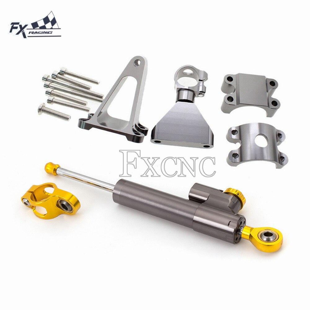 Honda CBR954RR 2002-03 Steering Damper Stabilizer Safety Control Bracket Kit