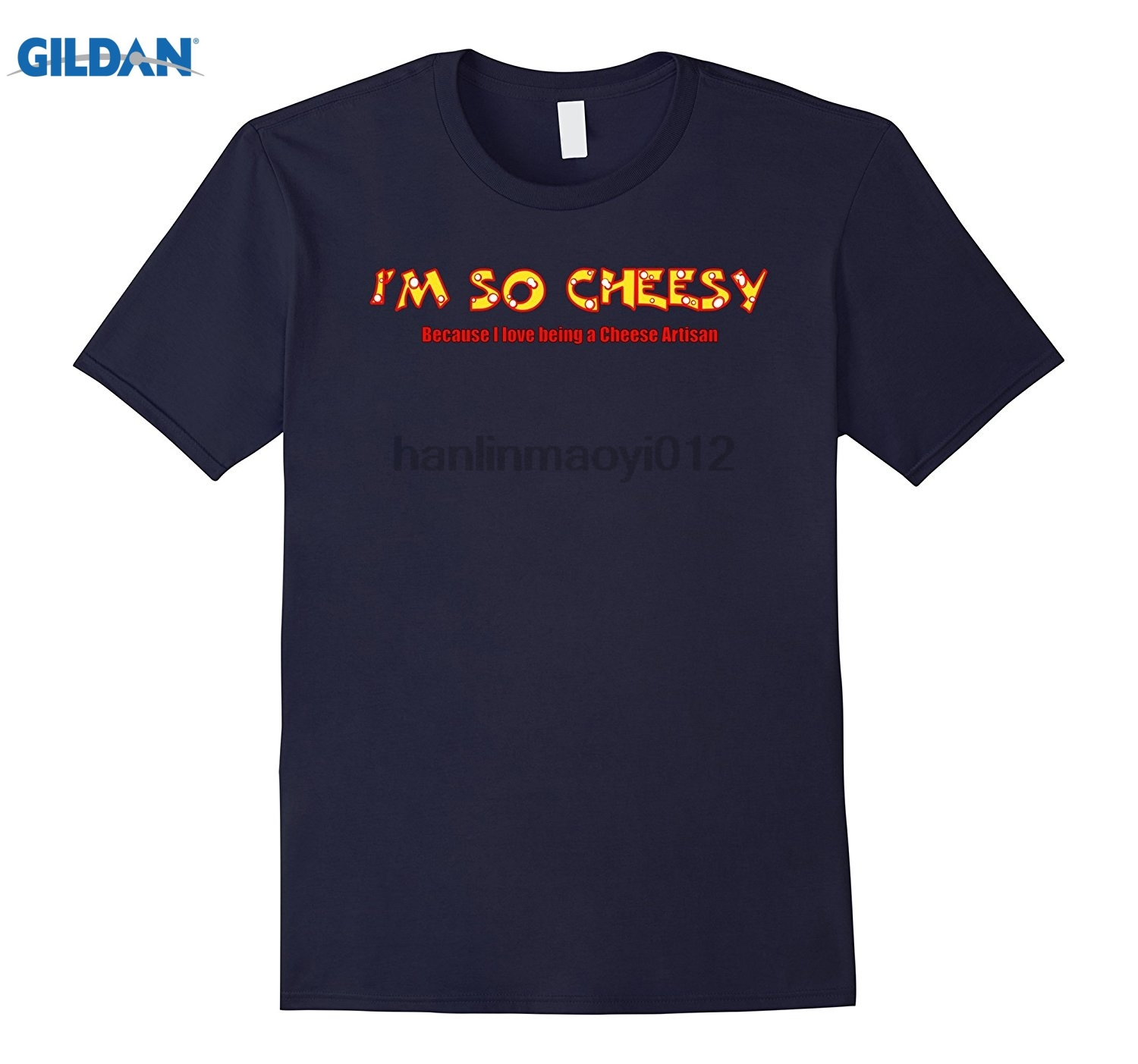 GILDAN Im So Cheesy 2018 New Hot Summer GILDAN T-shirt 100% Cotton Dress female T-shirt