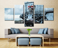 2017 Wall Art Canvas Modern Painting Movie Robot Printed Pictures Home Decoration Unframed