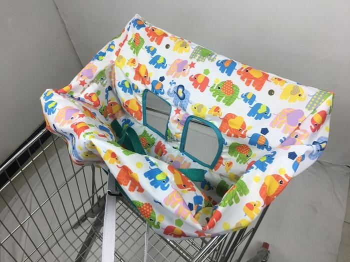 10 видов стилей серый чехол для детской тележки с рыбками, чехол для коляски, подушка для сиденья, детский чехол для стульев, защитная складная подушка в полоску - Цвет: Standard size