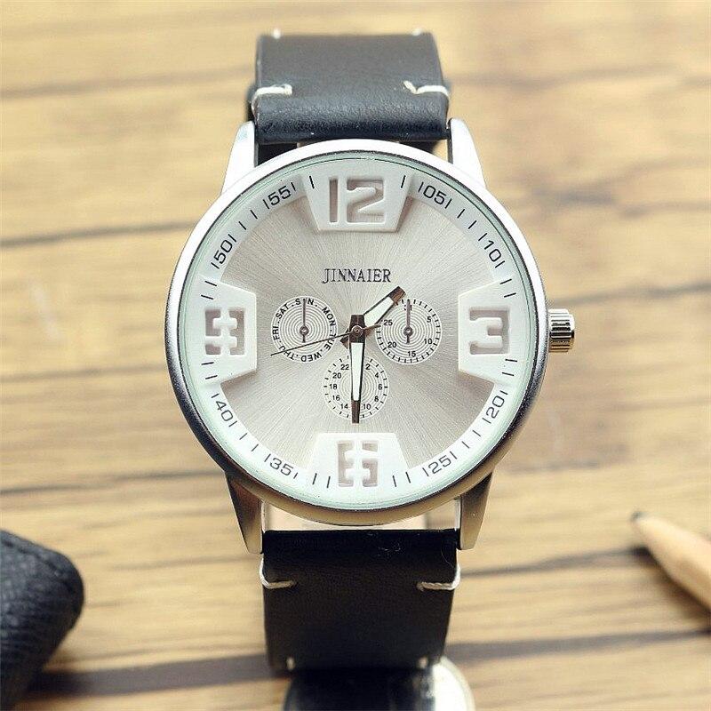 New Arrived Men Sports 3D Scale Leather Watch Fashion Business Quartz Wristwatch Promotion Gift For Men Dress Quartz Watch