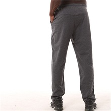 DZ18298 для мужчин полная длина Бег Фитнес свободное большое брюки молодежная одежда спортивные штаны для бега пот брюки