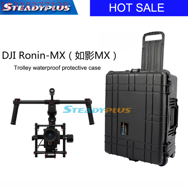 waterproof DJI ronin MX protective case High quality impact resistant protective case custom EVA lining