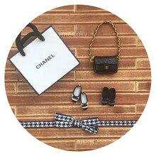 1 pcs Mignon Mini Marque De Mode Épaule Sac pour Blyth, Licca, Pullip, OB,  Momoko, barbies Poupée Sacs Accessoires 1673fd727c9
