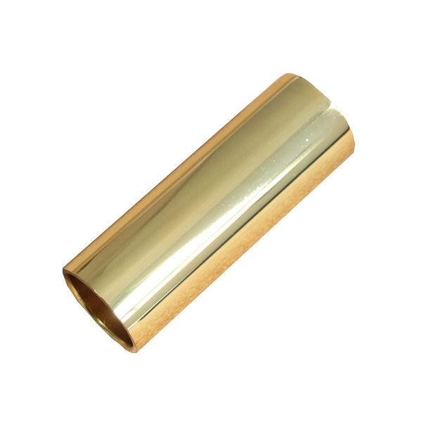 gold plated stainless steel metallic electric guitar slide 70mm guitar accessories in guitar. Black Bedroom Furniture Sets. Home Design Ideas