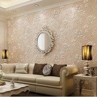 Wallpapers Youman 3D Waterproof Wallpaper Modern European non woven fabric walls in rolls bathrooms kids room living room