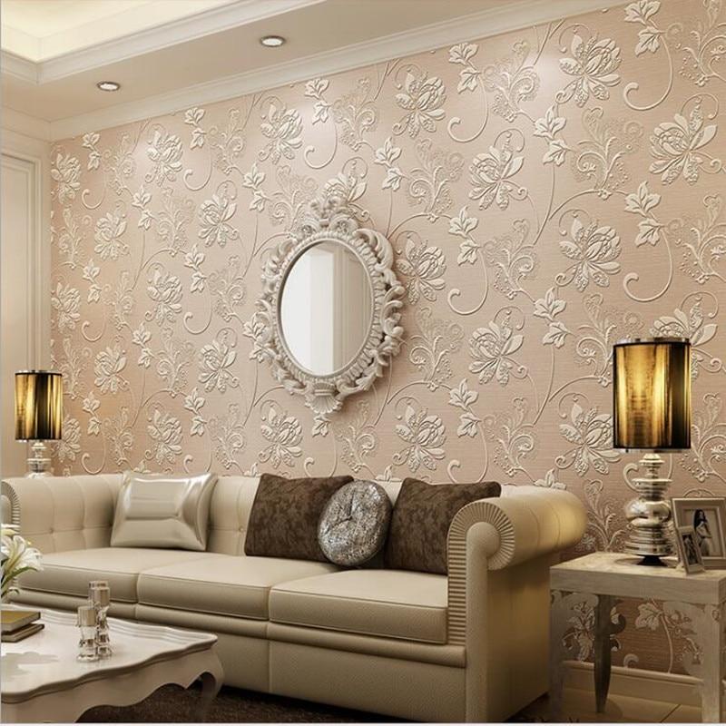 Fonds d'écran Youman 3D étanche papier peint moderne européen non-tissé murs en rouleaux salles de bains enfants chambre salon