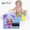 2017 Мультфильм LCD, Ванна Термометр Новый Младенческая Baby Safe Ванна Температура Воды Термометр Стикер Цифровой Термометр Детская Ванночка