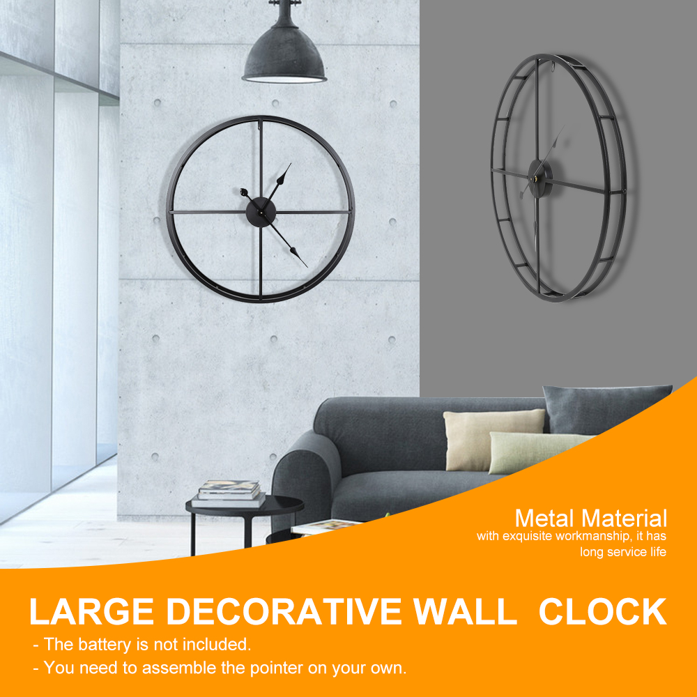 2019 Large Wall Clock Decorative Hanging Watch For Home Office Brief Wall Digital Clock Simple Watch Smooth Surface Home Decor2019 Large Wall Clock Decorative Hanging Watch For Home Office Brief Wall Digital Clock Simple Watch Smooth Surface Home Decor