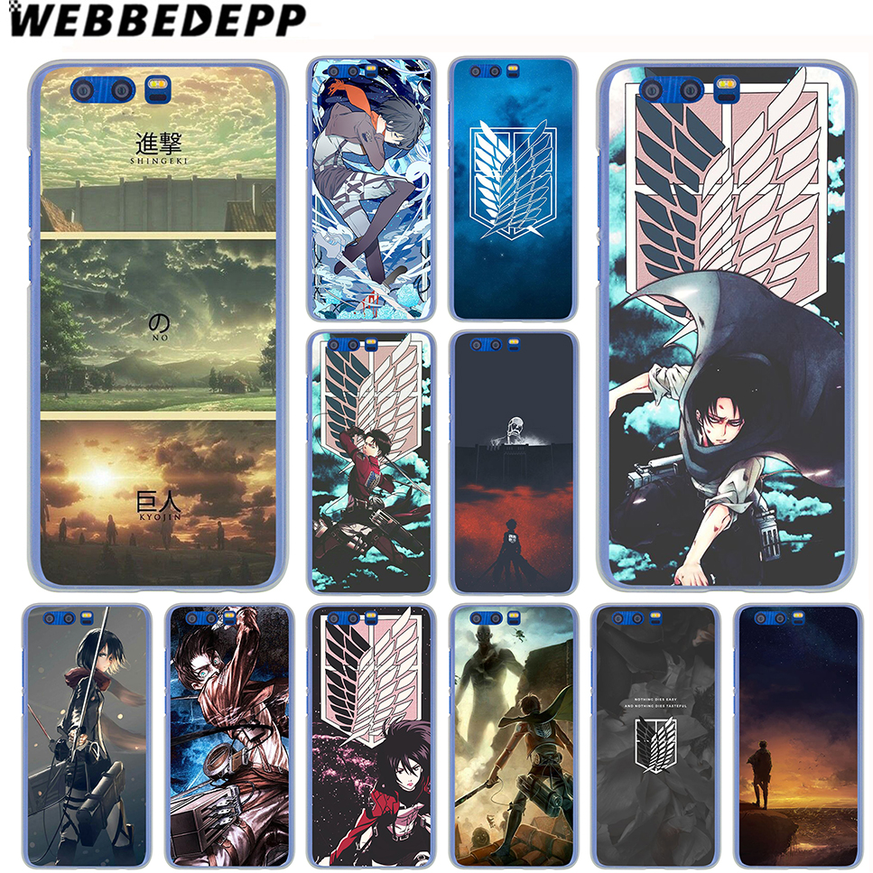 WEBBEDEPP Attack On Titan Case for SamSung Galaxy A8(Plus)A7 A5 A3 2018 2017 2016 2015 & Grand Prime Note 5 4 3