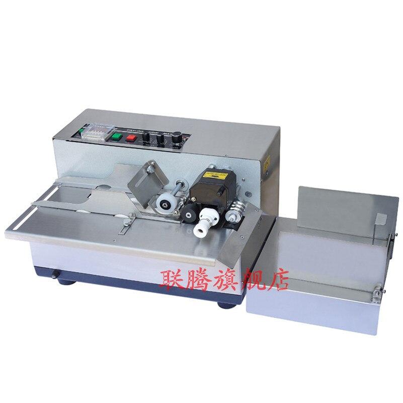 Machine de logo colorée électrique automatique de MY-380, imprimante de rouleau d'encre de date de Production/code de roue, machine de marquage de codage de sacs en plastique