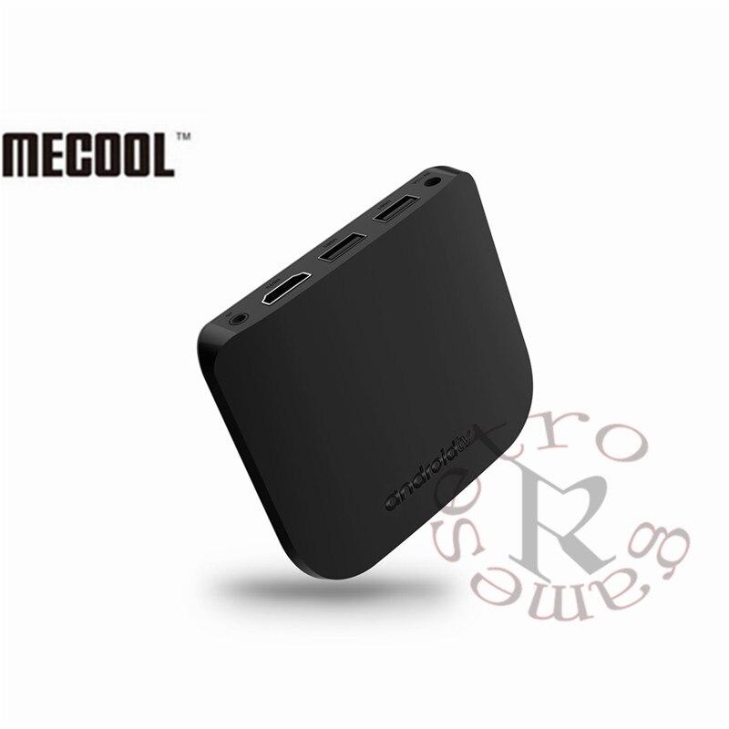 2018 New M8S Plus W Android 7.1 Amlogic Quad core 1GB 8GB TV BOX ULTRA THIN Smart Media Player With 2.4G WiFi 4K USB 2.0 Mini PC