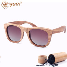 2017 high quality wood sunglasses handmade polarized fishing sun glasses wooden lunettes de soleil homme oculos feminino W3020