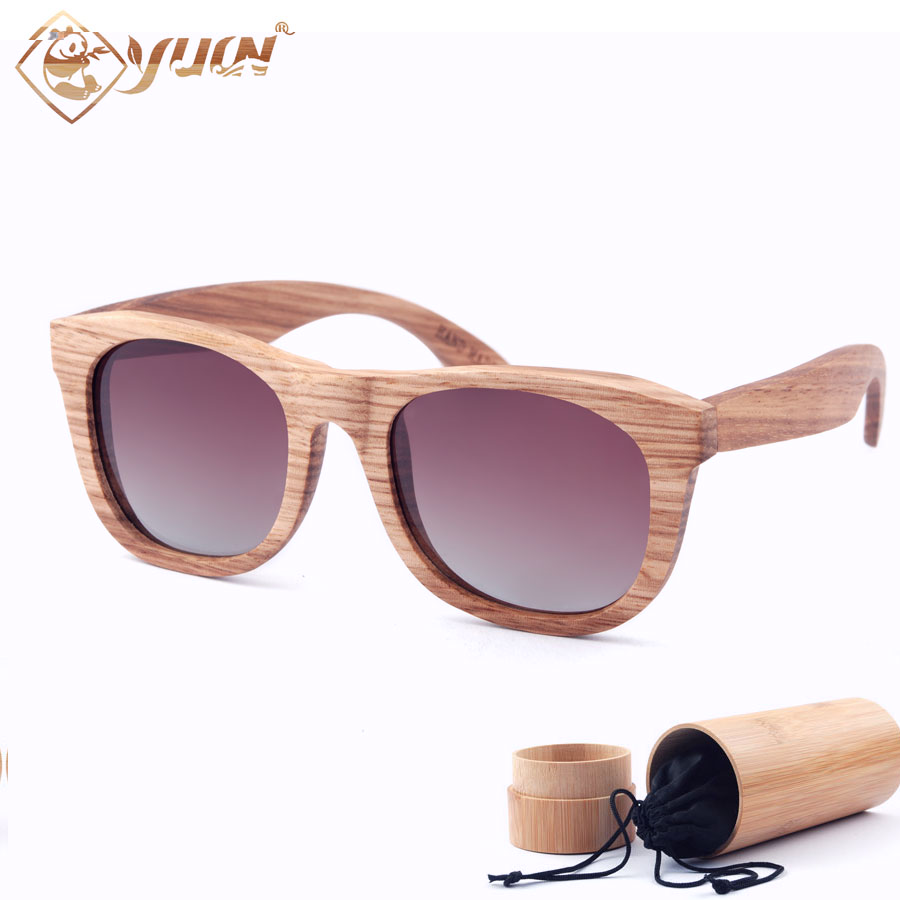2017 wood sunglasses handmade polarized fishing sun glasses wooden lunettes de soleil homme oculos feminino W3020