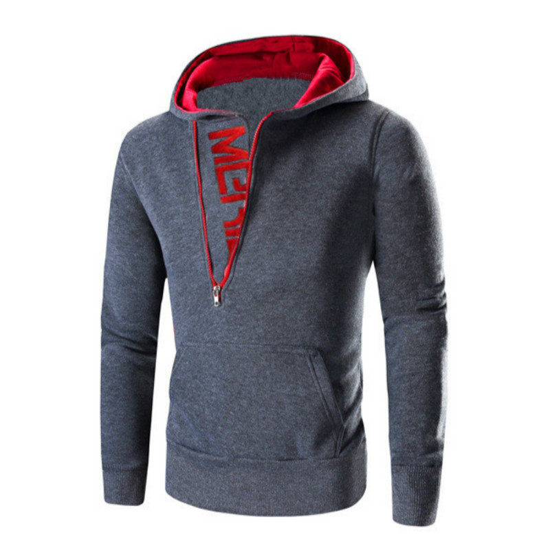 Cool Design Men Head Side Zip Up Sweatshirt Dante Cap